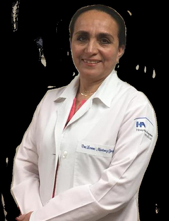 Dra. Lorena Martinez González ginecoactual